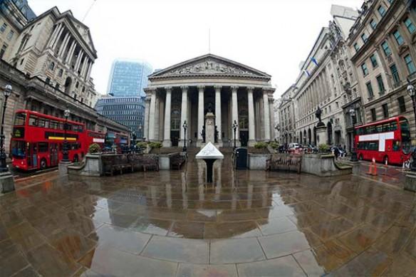 Déco thème Londres Royal Exchange