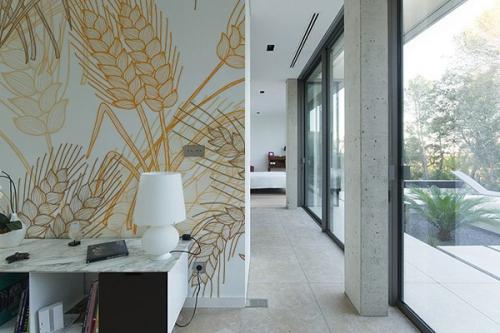 Papier peint décoration Epi élégant