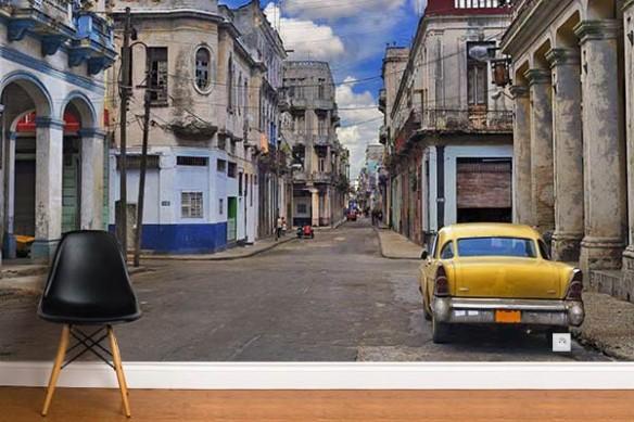 Papier peint mural Habitations Cubaines