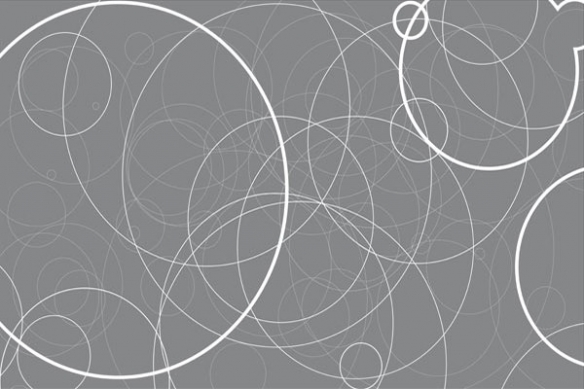 deco tableau abstrait Energie noir et blanc