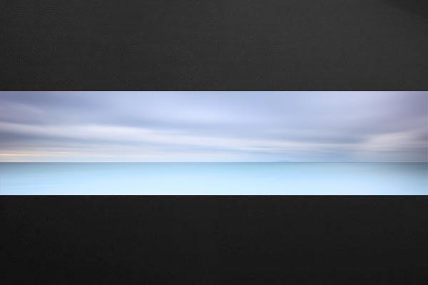 Chambre Bleu Horizon : Papier peint chambre bleu horizon izoa