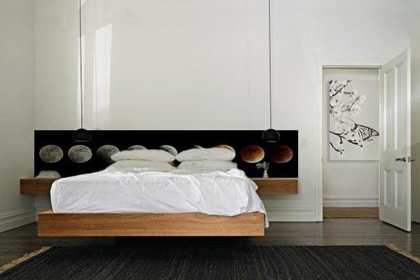 Papier peint chambre phases lunaires izoa for Papier peint original chambre