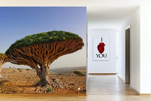 poster geant savane izoa. Black Bedroom Furniture Sets. Home Design Ideas