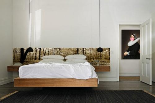 Deco mural chambre chambre sol noir chambre sol noir deco murale chambre adu - Humidite mur interieur chambre ...