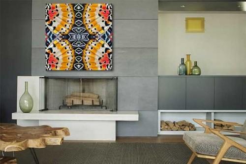 tableau original monarque izoa. Black Bedroom Furniture Sets. Home Design Ideas