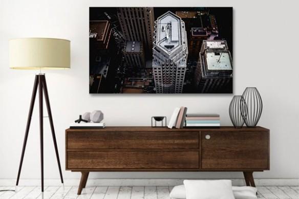 Tableau New York Quartier Financier de NYC