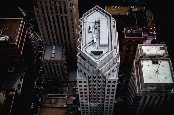 Quartier affaires New York