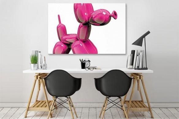 Tableau moderne Color Dog by Jonathan Berne