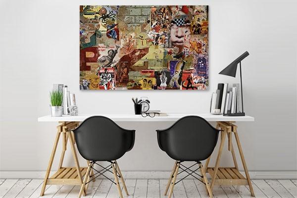 Tableau contemporain design affiches for Tableau design contemporain