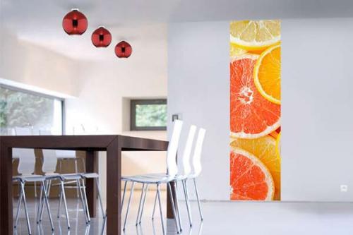 Papier peint cuisine Agrume passion