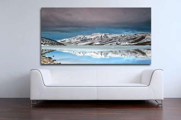 Tableau Mural Lac Utah