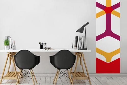 Papier peint design Polonium