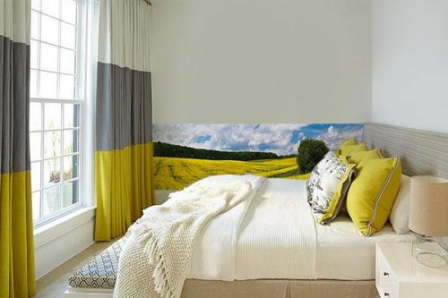 Papier peint Chambre Yellow Landscape