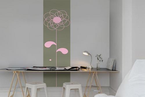 Papier peint Fleurs Ylang Ylang