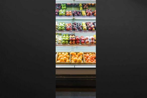 Supermarché sticker pour porte