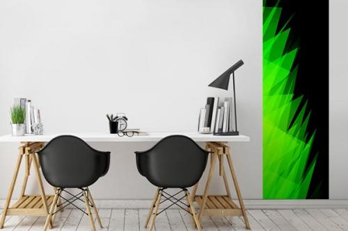 poster mural tasca vert