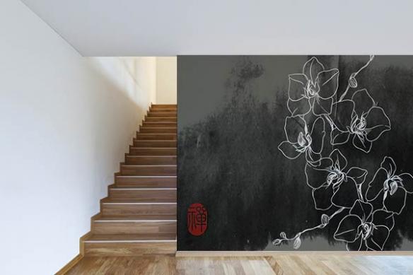 Poster mural Parcellisation