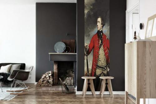 Papier peint déco Général Burgoyne
