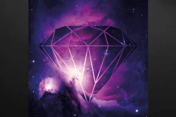 Toile design diamants éternels