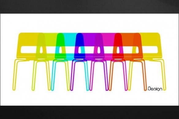 chaise eames deco Tableau design