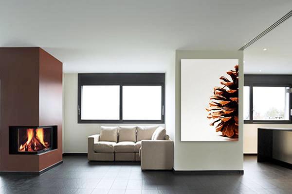 tableau contemporain c ne botanique izoa. Black Bedroom Furniture Sets. Home Design Ideas