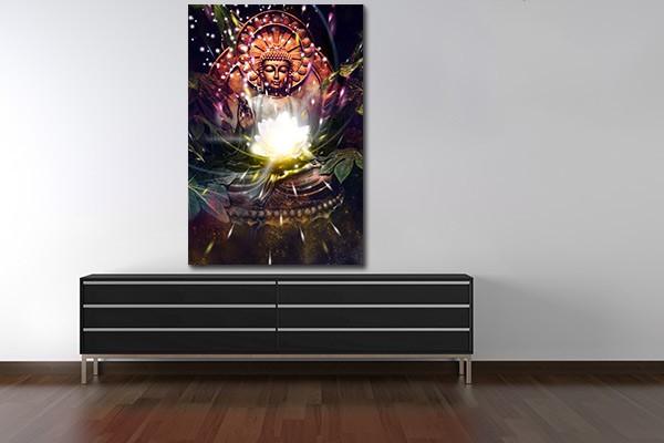 Tableau zen illumination izoa for Tableau mural zen