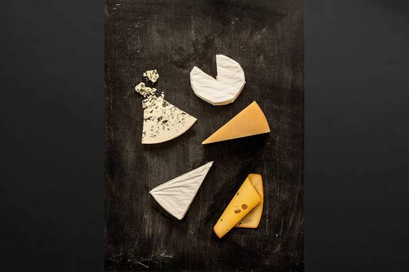 tableau sur toile Plateau de fromages