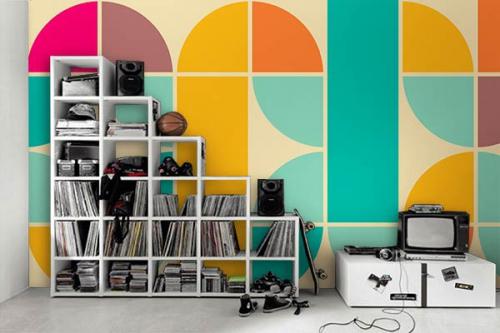 beryl poster mural graphique
