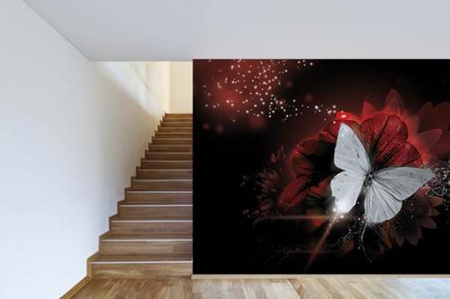 Papier peint design et moderne Papillon de Lumière