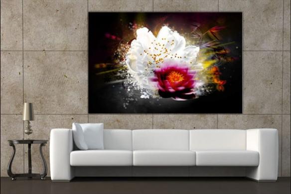 Tableau Fleur de Lumière