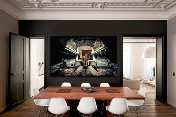 Toile contemporaine mall izoa - Toiles contemporaines design ...