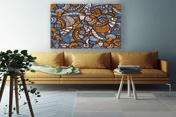 tableau d co africain semma izoa. Black Bedroom Furniture Sets. Home Design Ideas