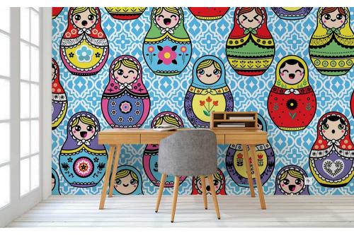 Papier peint enfant izoa - Tapisserie chambre enfant ...