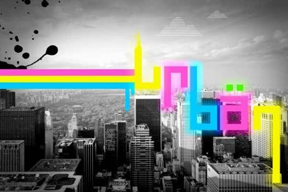 Tableau déco Urban new york