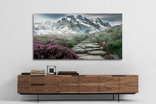 tableau moderne chemin vers le nirvana izoa. Black Bedroom Furniture Sets. Home Design Ideas