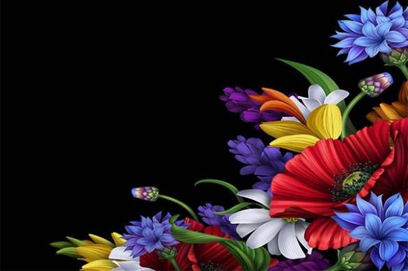 Poster déco Merveille Fleurie