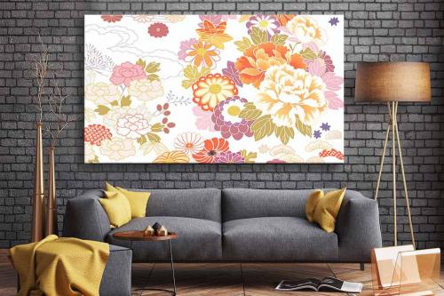 Cadre déco Amisha Fleurs