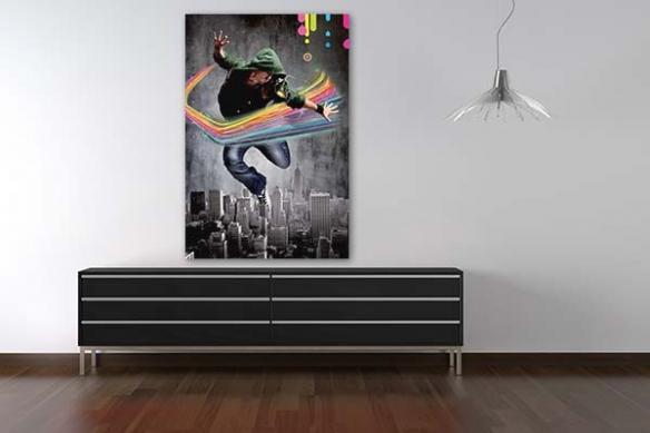 Tableau moderne Colors make me stronger by Sébastien Grand