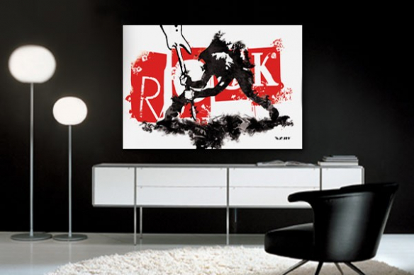 Tableau moderne Rock'n Rock by Vain
