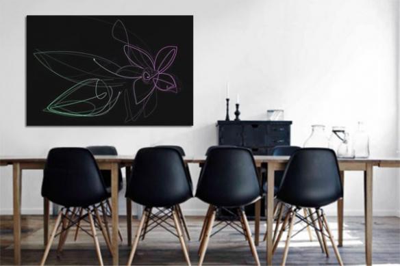 Tableau Fleur de Vanille by Jonathan Berne