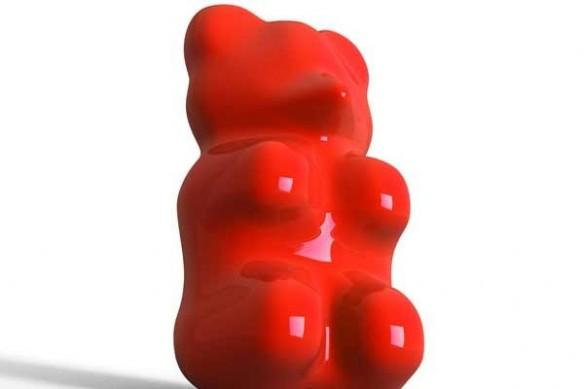 Tableau ourson bonbon design