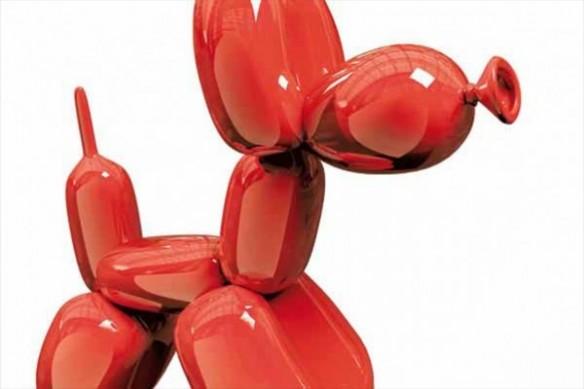 décoration grand format Chien ballon