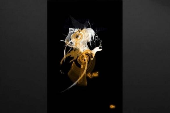 deco design silhouette