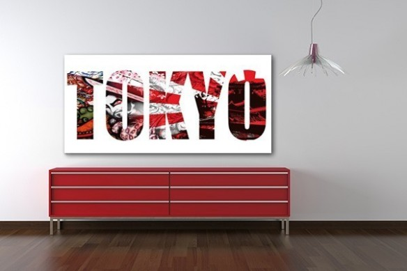 Tableau XXL Tokyo by Jonathan Berne