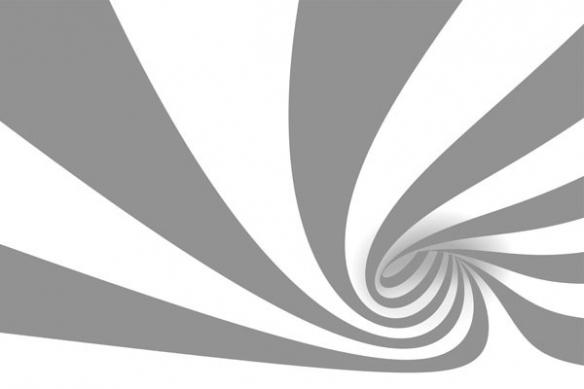 Tableau design abstrait Cyclone gris