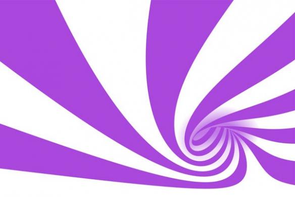 toile déco abstraite Cyclone violet