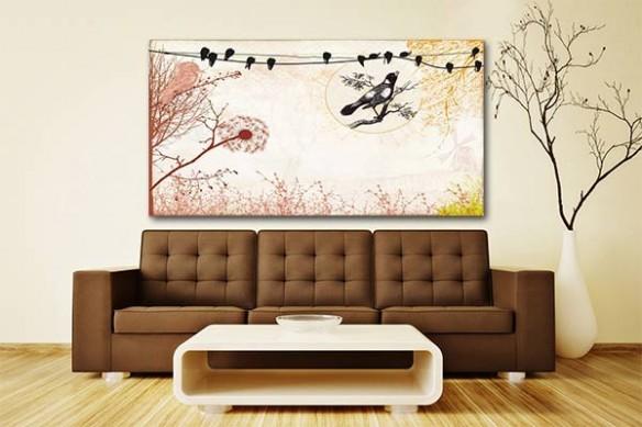 décoration tableau murale design air du temps