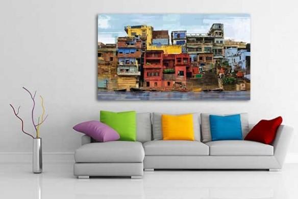 décoration Favelas murale moderne