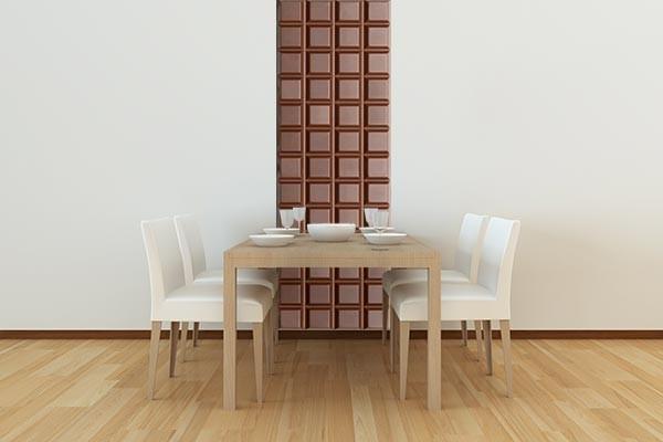 papier peint original chocolat izoa. Black Bedroom Furniture Sets. Home Design Ideas
