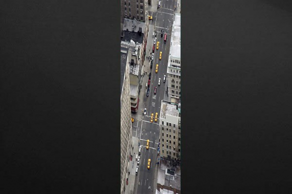 photo  poster mural Boulevard New Yorkais